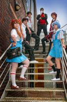 Stair Way to NERV by Foxseye