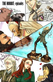 THE HOBBIT: funny episodes by Purple-Meow