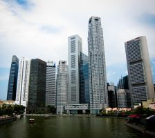 Banking District Singapore by niksi13