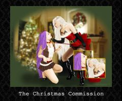 PORTRAIT BUNDLE - The Christmas Commission by PointyHat