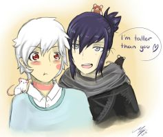 Sion and Nezumi by Ami-Cat