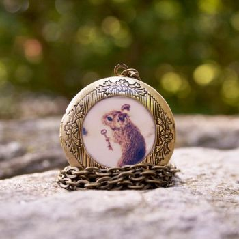 Little Mouse Locket by ThisYearsGirl