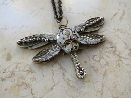 Steampunk Unique Dragonfly by LsUnique