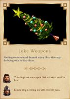 Joke Weapons by Rydain