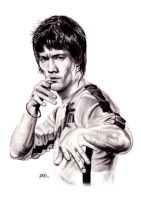 Bruce Lee by Jags1585