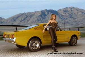 Ford Mustang 1965 Fastback 1 by joeliveros