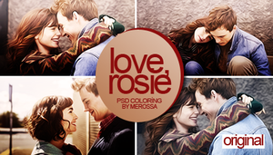 Love, Rosie Psd Coloring by meroro2