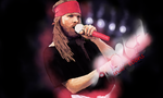 Axl Rose Vector Art by Indiotoons