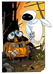 walle and eve by travisJhanson