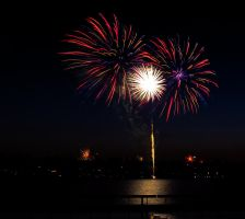 Fireworks over Meridian #3 by KRHPhotography