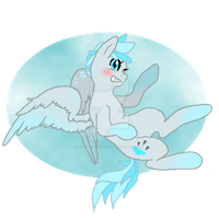 My Little Pony OC (Cloud Drop) by TheWhimsicalGoat