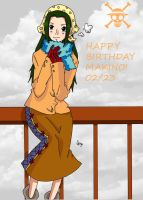 Happy Birthday Makino - One Piece by Namuzza94