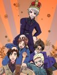 Pile of Hetalia by Ariaera
