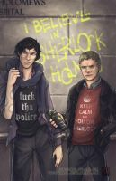 Fanart - Believe in Sherlock by fictograph
