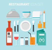 15 Restaurant Supplies Icon Vector by FreeIconsdownload