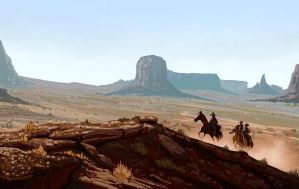 The Searchers by MarkHRoberts