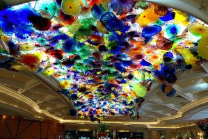 bellagio ceiling art by Unique-Shadow