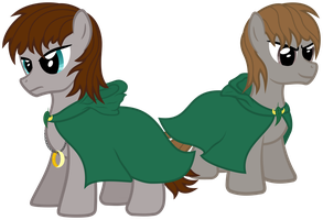Hobbit Ponies by Proenix