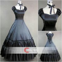 Bandage with Necklace Gothic Lolita Dress by wendywei2012