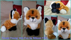Forest young'uns Gibson fox 11in by Vesperwolfy87