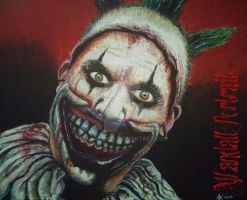American Horror Story: Freak Show Twisty The Clown by A-L4ND4LL