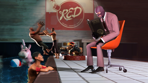 SFM Poster: The Pool Party by PatrickJr