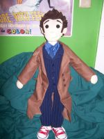 Tenth Doctor Doll by calypsacadence