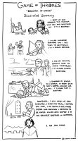 Game of Thrones 4x03 - Illustrated Summary by AlessiaPelonzi