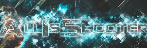 AllIsShooter GoW Banner by DramaSama
