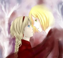 APH: I don't know if I regret... by Anila-chan