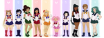 sailorsenshi by TwinklePowderySnow