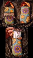 Fancy-Schmancy Cell Phone Case by witchcraftywolfen