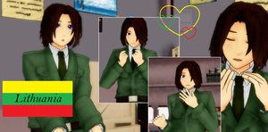 MMD Newcomer: Lithuania by Ringtail14