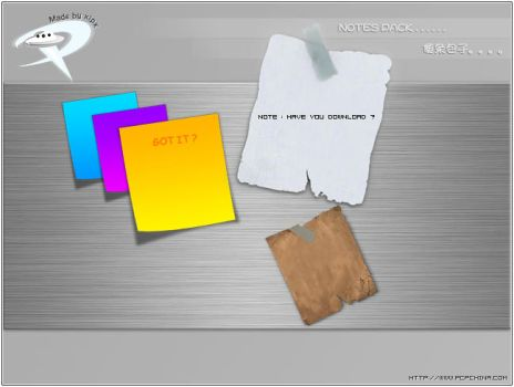 Note pack by xipx