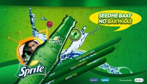 Sprite Pitch site design by kgenextreme