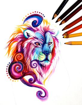 Lion Design by Lucky978