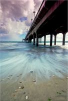 Under The Pier II by Dave-Ellis
