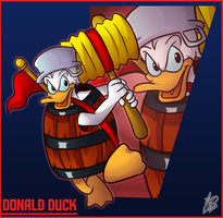 Bro Month 25 - Donald Duck by Ian-the-Hedgehog