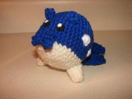 Spheal Amigurumi [For Sale] by cRochat-Creations