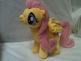Fluttershy Plush by Cryptic-Enigma