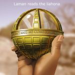 Laman Reads the Liahona by Swashbookler