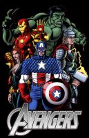 Avengers Assembled by thelearningcurv