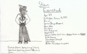 Stian Evenstad: Bio by aindreas03
