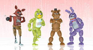 Welcome Five Nights At MMD! by BryanRush