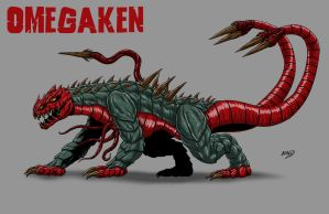 Kaiju Commissions - Omegaken by Bracey100