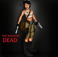 The Walking Dead: Future Clementine 3 by Axels-inferno