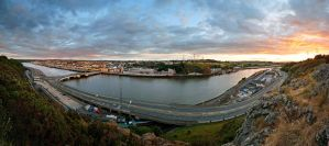 Sunset in Waterford by Banshee333