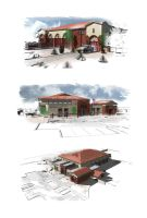 Kingman Firestation Renders by illmatic1
