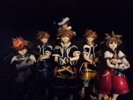 The Sora Expendables by Vqstudios