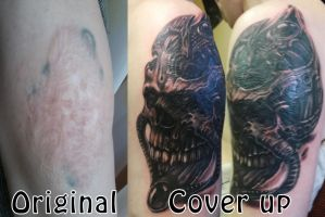 Skull Cover by JOKERSHADOW666